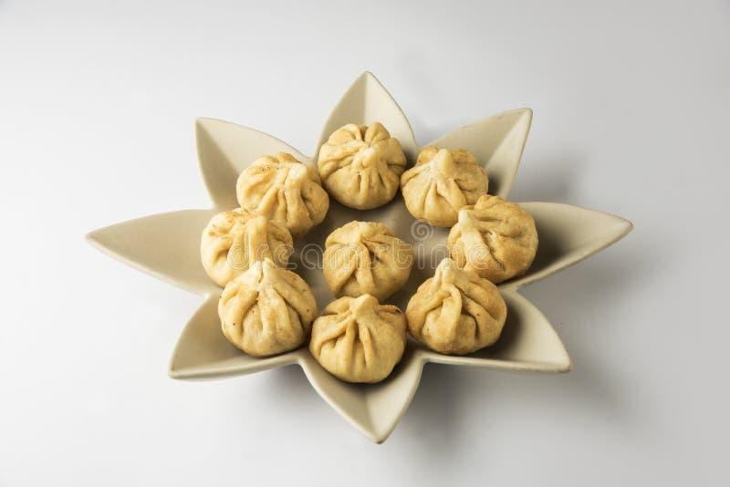 Het voedsel van het Maharashtrianfestival, modak royalty-vrije stock afbeeldingen