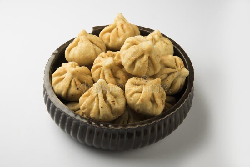 Het voedsel van het Maharashtrianfestival, modak royalty-vrije stock afbeelding