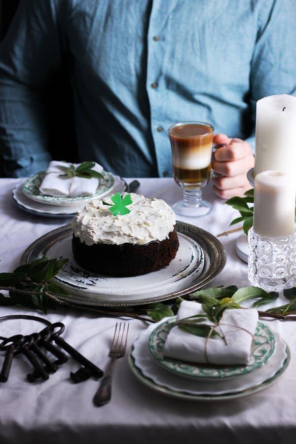 Het voedsel van Ierland Iers Ontbijt stock fotografie