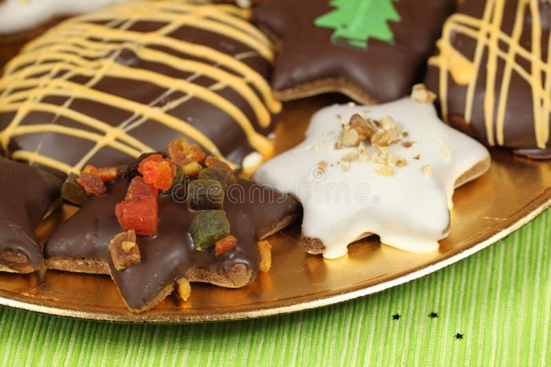 Het voedsel van Kerstmis royalty-vrije stock foto