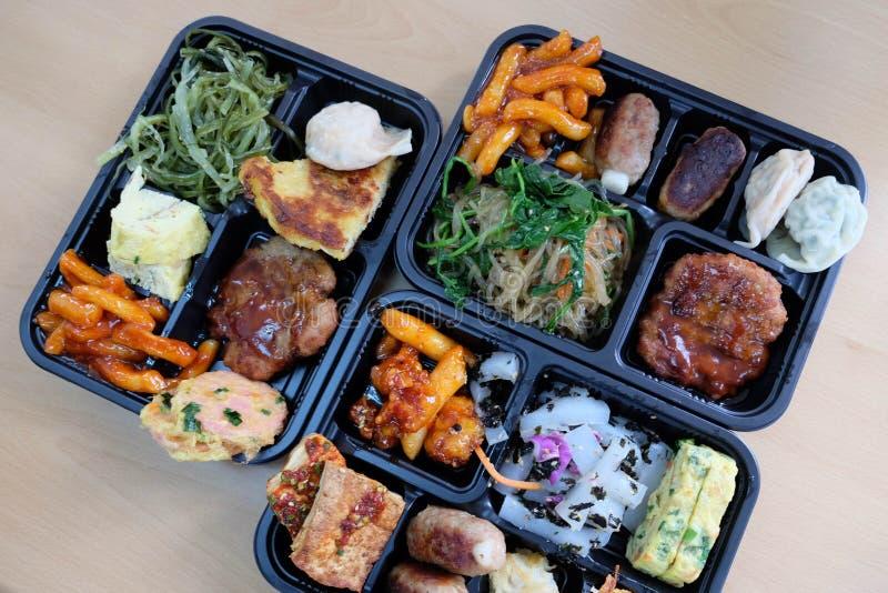 Het Voedsel van Korea stock afbeeldingen