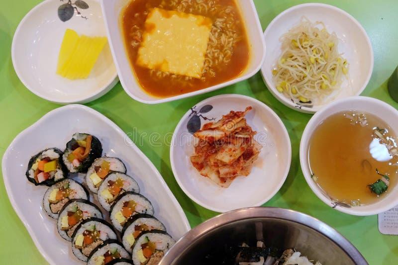 Het Voedsel van Korea stock foto