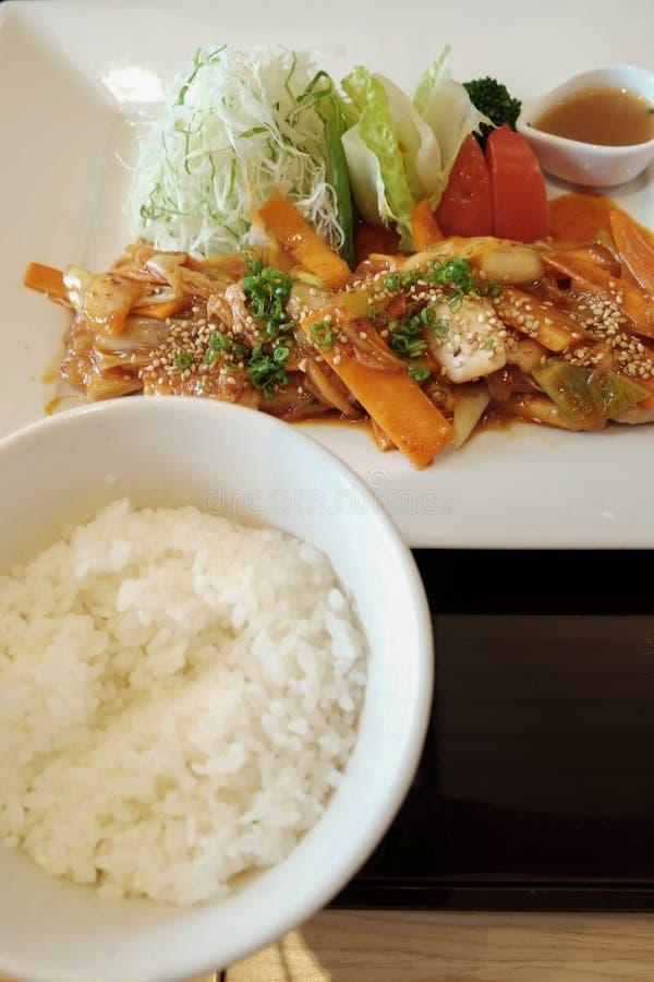Het Voedsel van Korea stock foto's