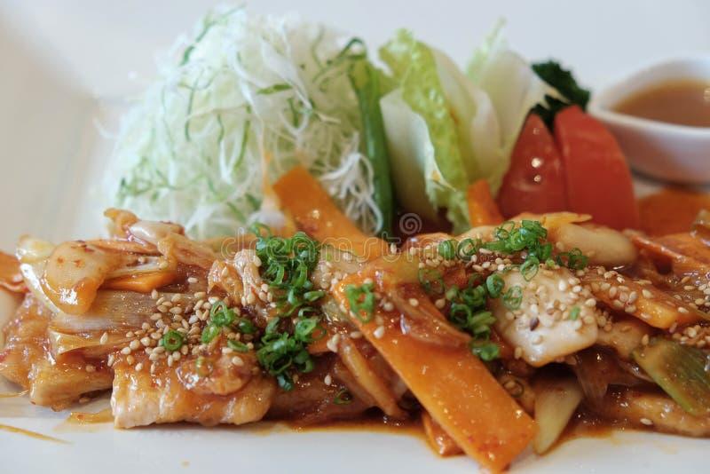 Het Voedsel van Korea royalty-vrije stock afbeelding