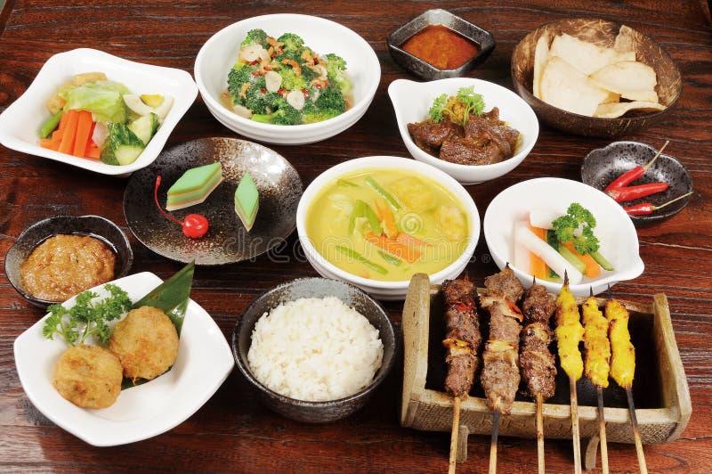 Het Voedsel van Maleisië stock afbeelding