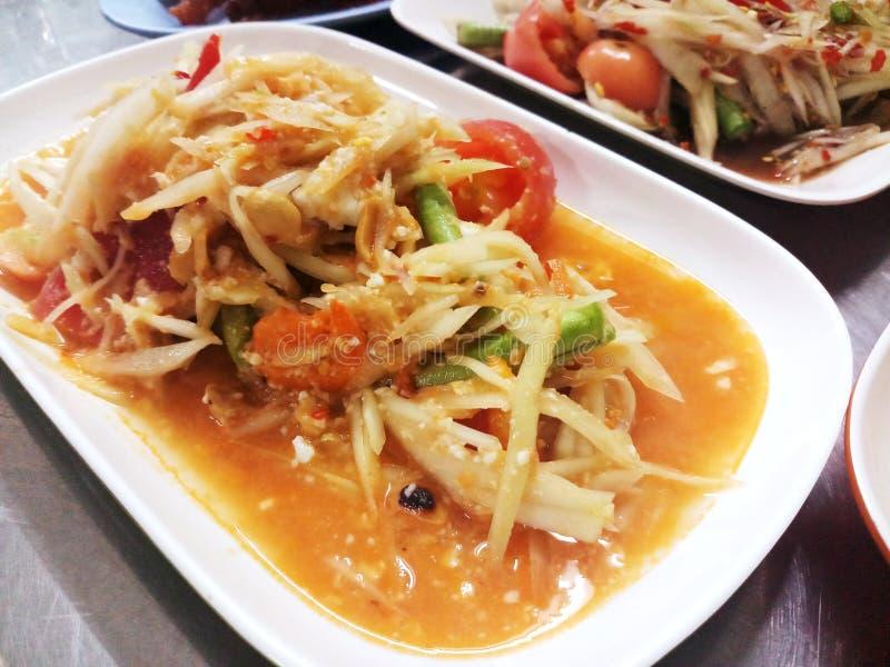 het voedsel van Thailand stock foto's
