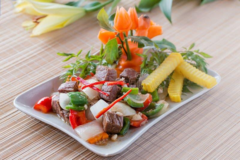Het voedsel van Vietnames stock fotografie