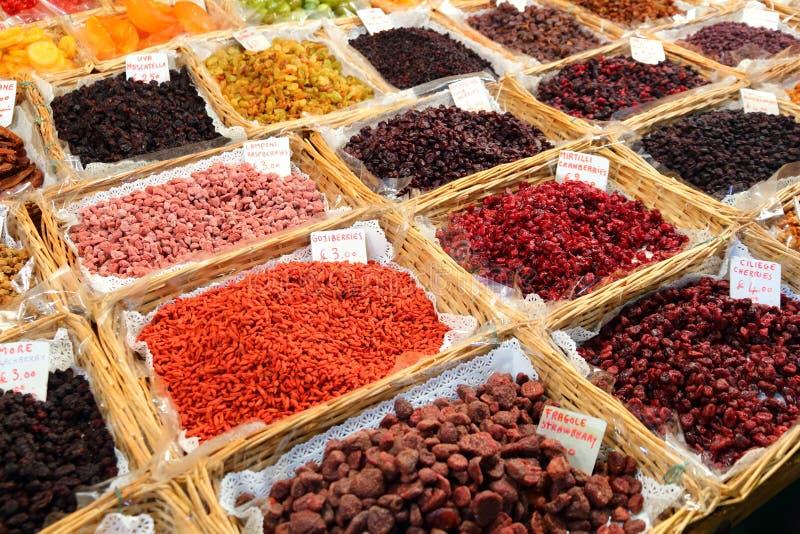 Het voedselmarkt van Italië royalty-vrije stock fotografie