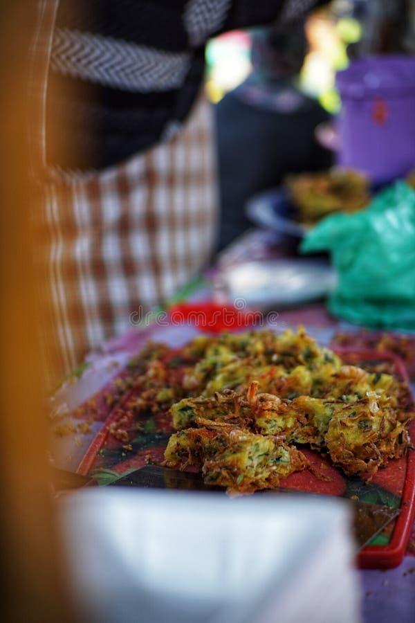 Het Voedseltentoonstelling van Maleisi? royalty-vrije stock afbeeldingen