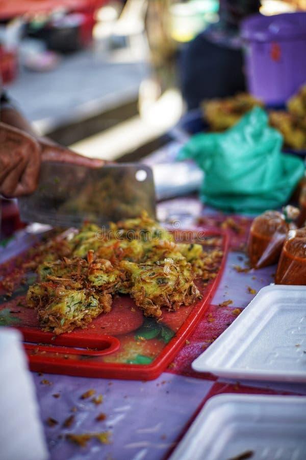 Het Voedseltentoonstelling van Maleisi? stock afbeeldingen