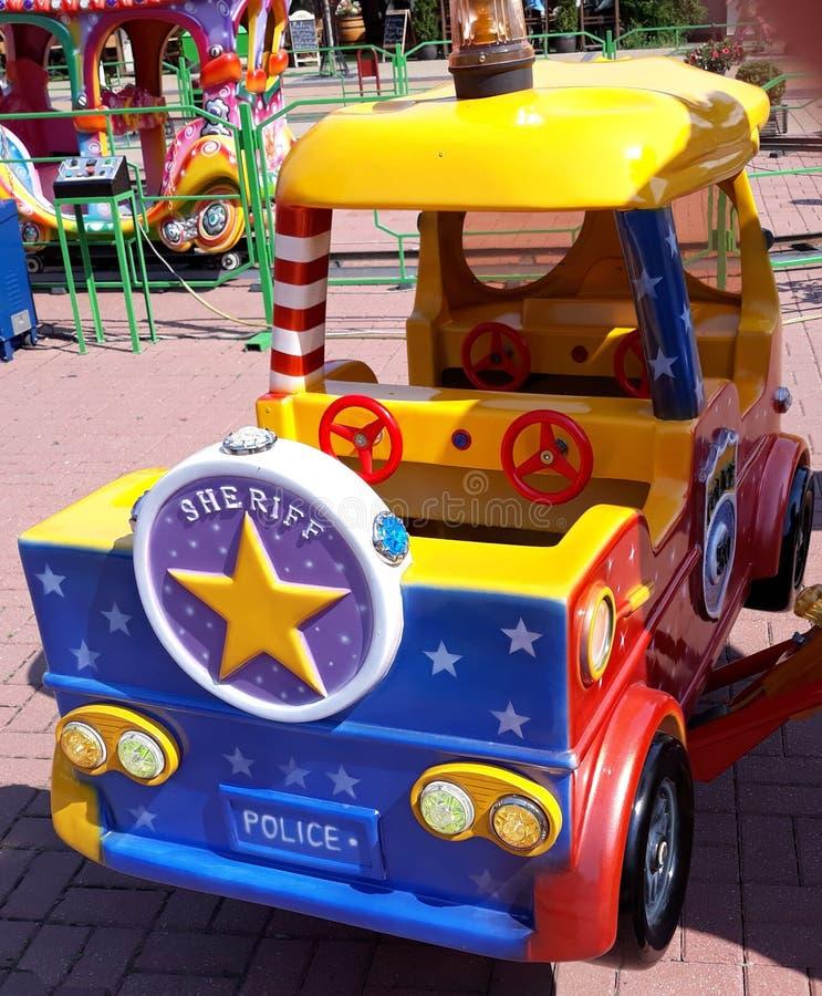 Het voertuig van de de bestelwagenpolitie van de sheriffauto royalty-vrije stock fotografie