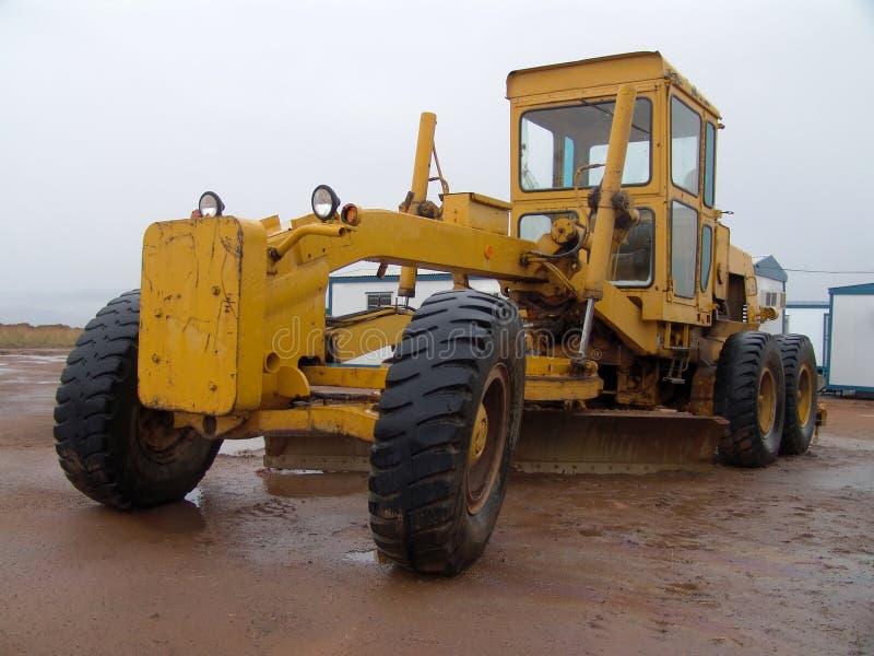 Het voertuig van de bouw stock afbeeldingen