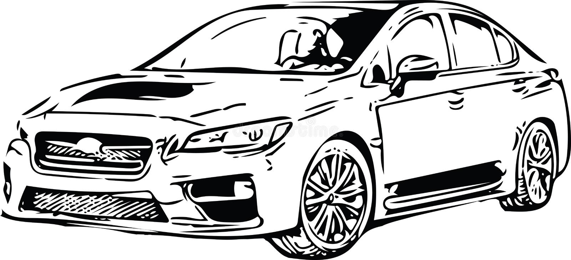 Download Het Voertuigsilhouet Van Conceptensportscar Vector Illustratie - Illustratie bestaande uit automobiel, snel: 107705264