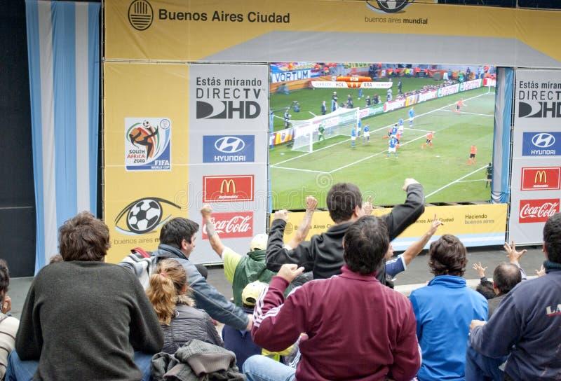 Het Voetbal 2010 van de Kop van de wereld royalty-vrije stock afbeelding