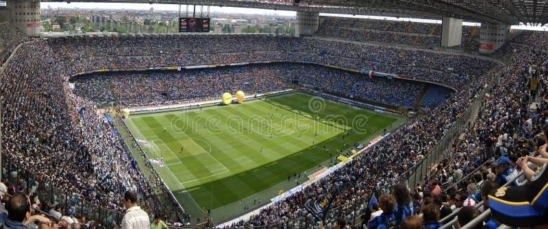 Het voetbalstadion van Meazza stock foto's