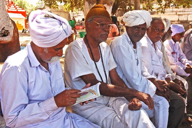 Het volks Leven in Gujarat royalty-vrije stock afbeelding