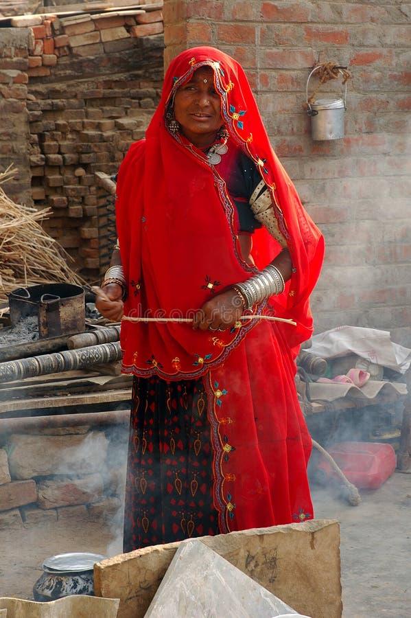 Het volks Leven in Gujarat royalty-vrije stock afbeeldingen