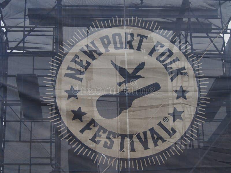 Het Volksfestival van Nieuwpoort stock afbeelding