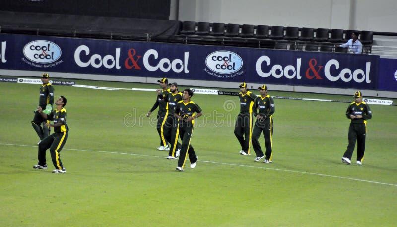 Het volledige Team van Pakistan royalty-vrije stock foto
