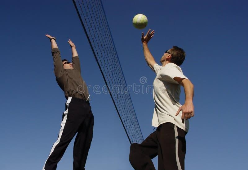 Het Volleyball van het strand royalty-vrije stock afbeelding