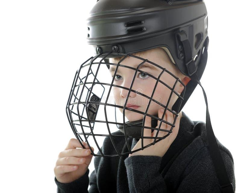 Het voorbereidingen treffen voor Hockey stock afbeelding