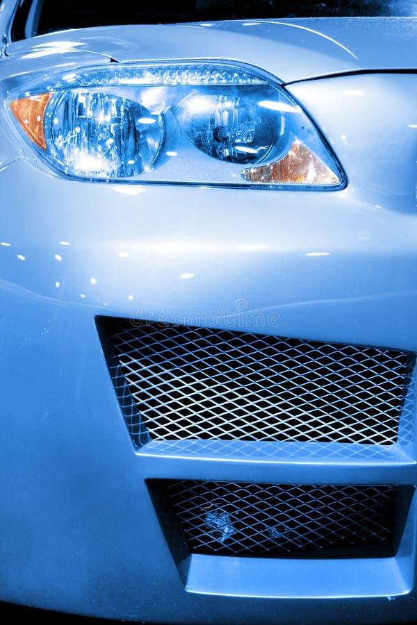 Het vooreind van de auto stock afbeeldingen