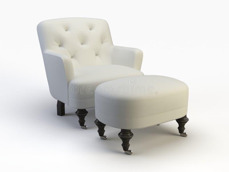 Het voorwerp van de stoel royalty-vrije illustratie