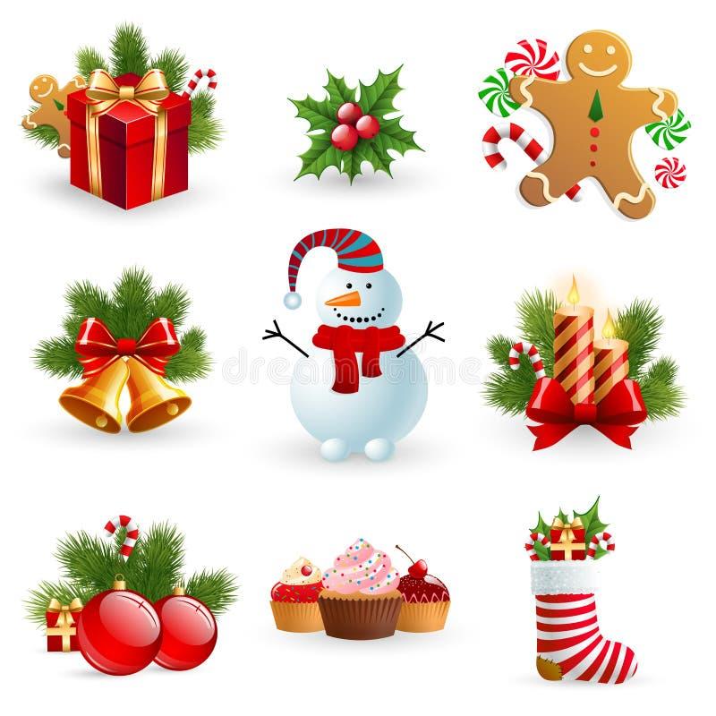 Het voorwerp van Kerstmis. royalty-vrije illustratie