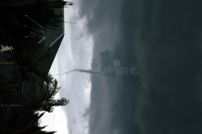 Het vormen zich van de tornado royalty-vrije stock afbeelding