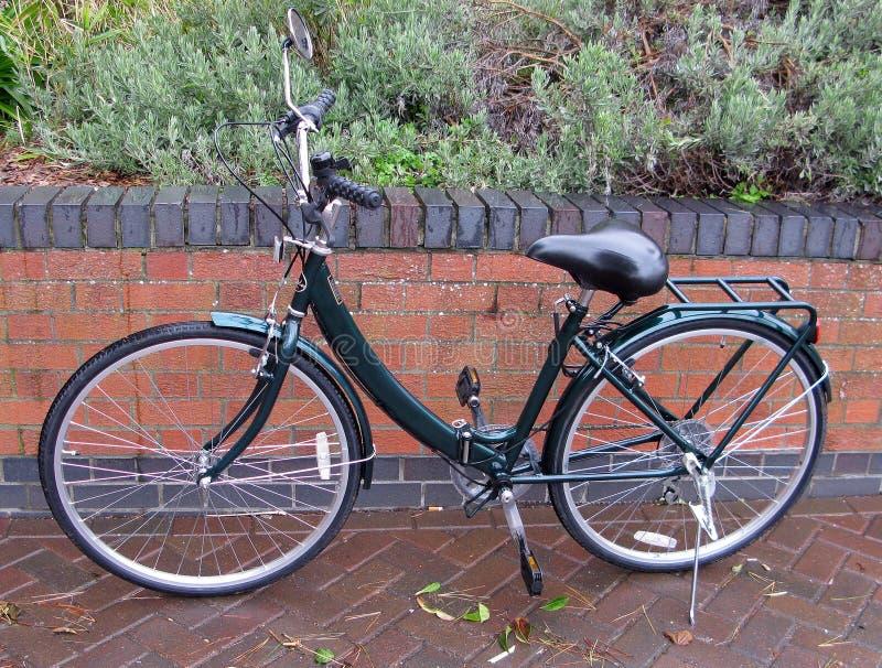 Het vouwen van fiets royalty-vrije stock afbeelding
