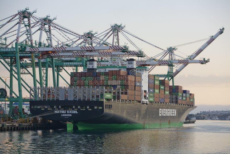 Het Vrachtschip van de lading stock afbeeldingen