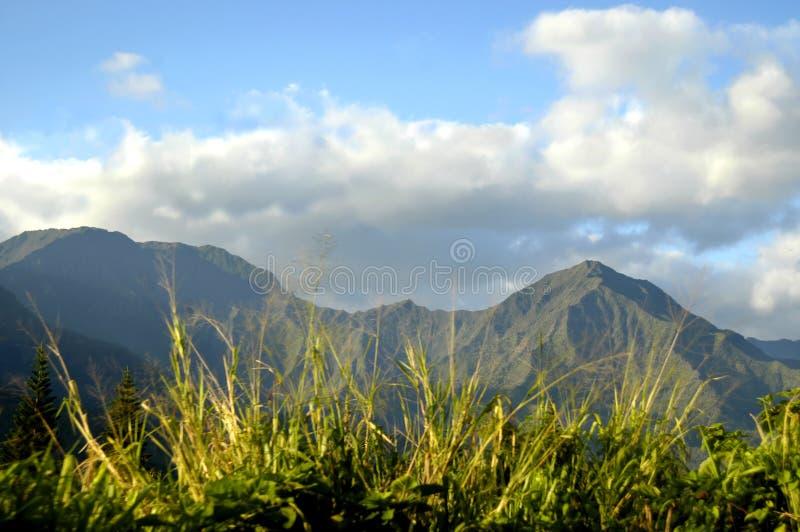 Het vreedzame Uitzicht van de Berg royalty-vrije stock afbeeldingen