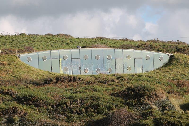 Het Vriendschappelijke Ondergrondse Huis van Eco royalty-vrije stock foto