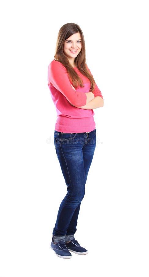 Download Het Vrouwelijke De Student Van Nice Glimlachen Stock Foto - Afbeelding bestaande uit onderwijs, charming: 39111090