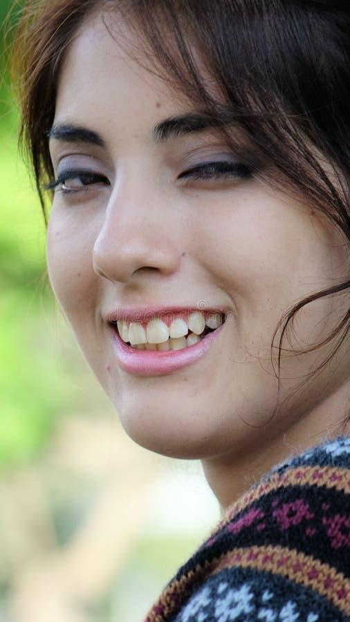 Het Vrouwelijke Portret van Latina stock afbeelding