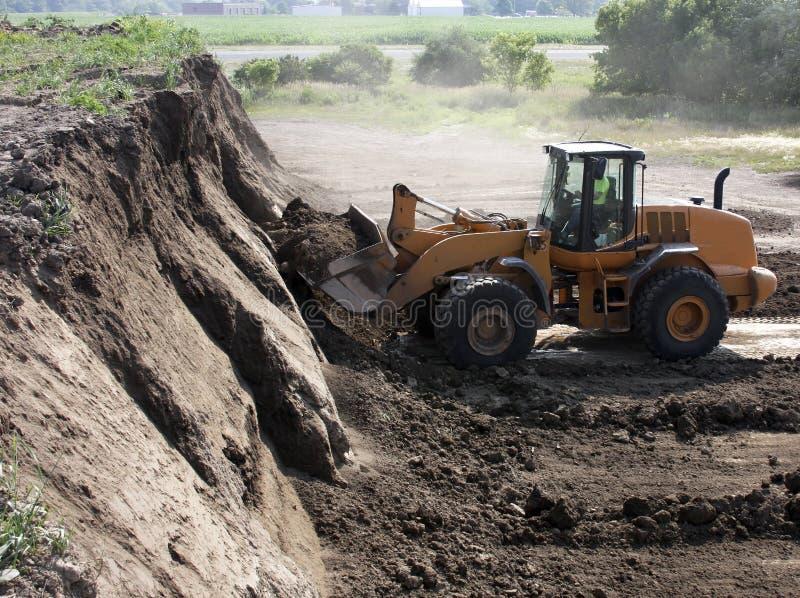 Het vuil van de mijnbouw stock fotografie