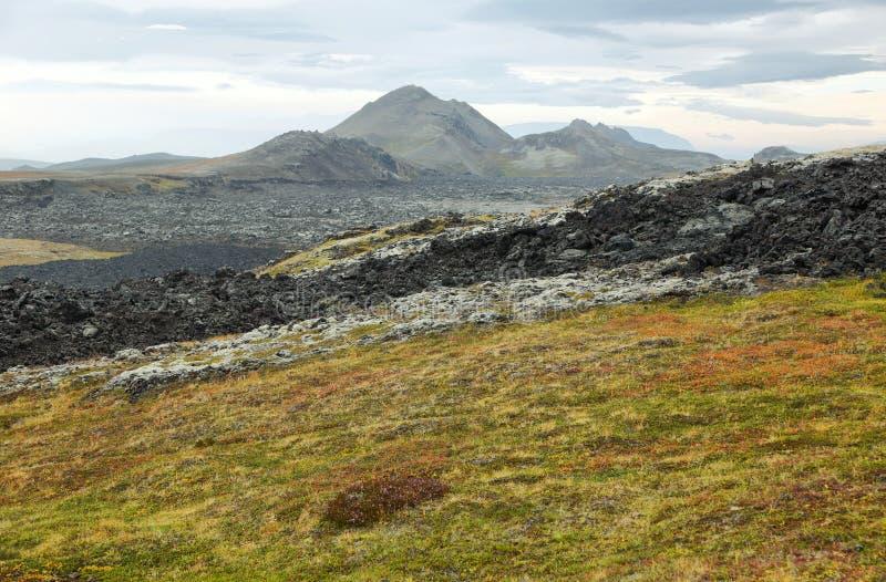 Het vulkanische gebied van Krafla royalty-vrije stock fotografie