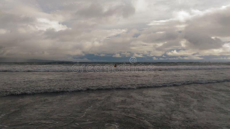 Het Vulkanische Strand van Hawaï royalty-vrije stock foto