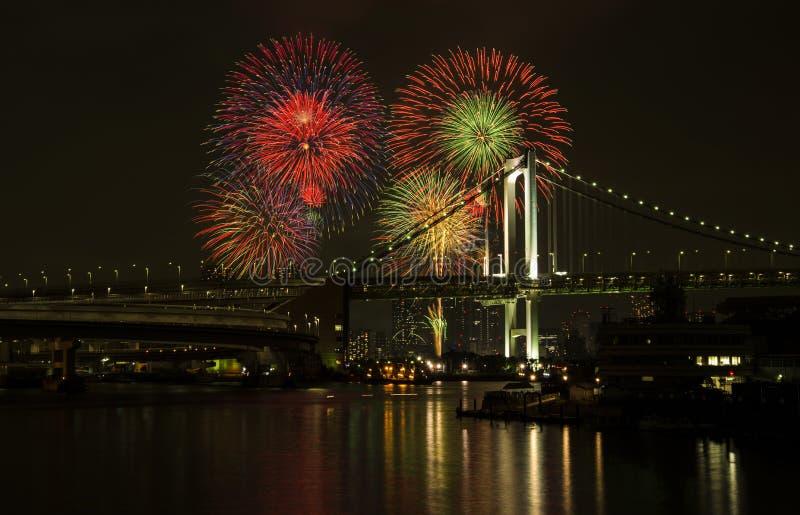 Het vuurwerk is symbool van vieringen royalty-vrije stock afbeeldingen