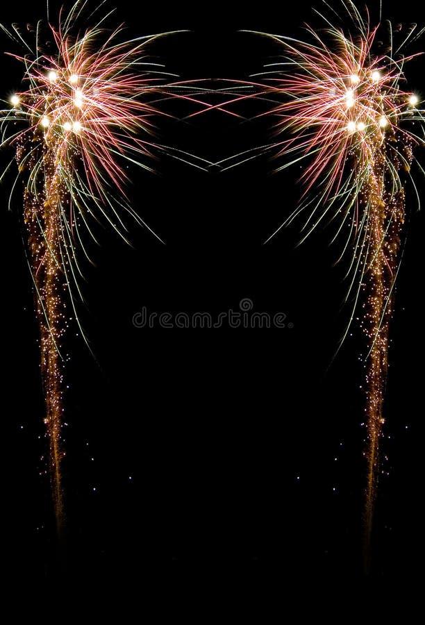 Het vuurwerk van de viering royalty-vrije stock afbeeldingen