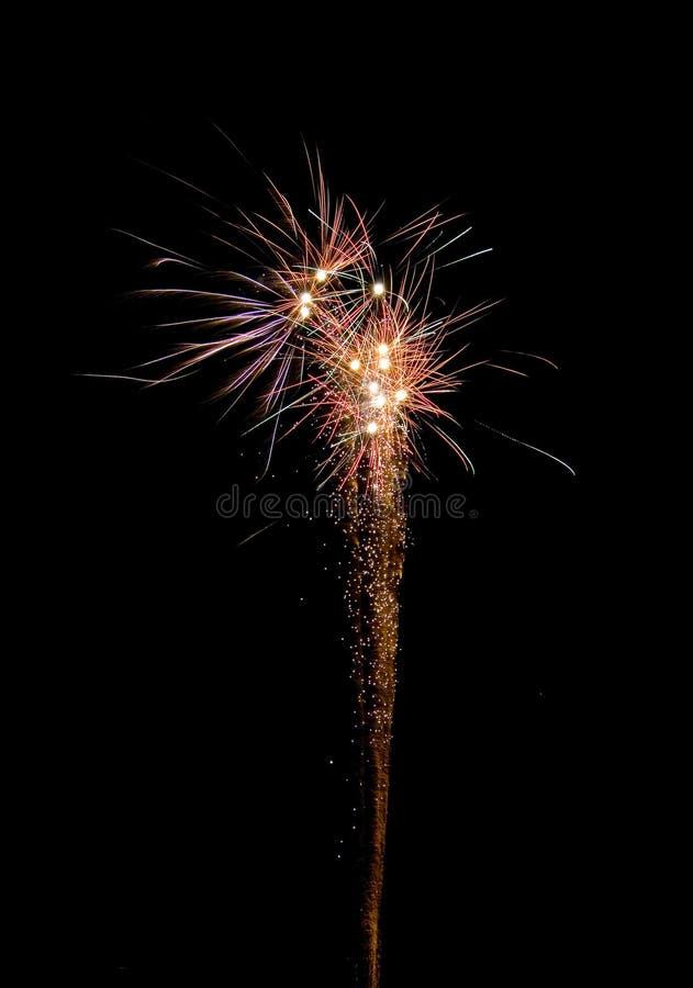 Het vuurwerk van de viering royalty-vrije stock afbeelding