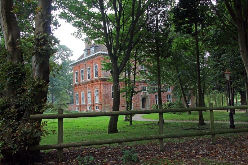 Het waardige huis van het land van Kent royalty-vrije stock foto's
