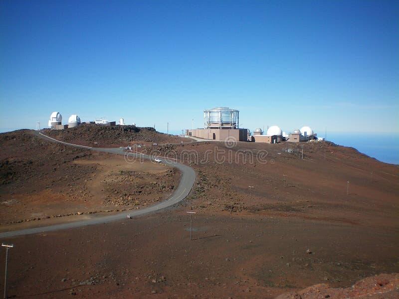 Het Waarnemingscentrum van Haleakala royalty-vrije stock foto's