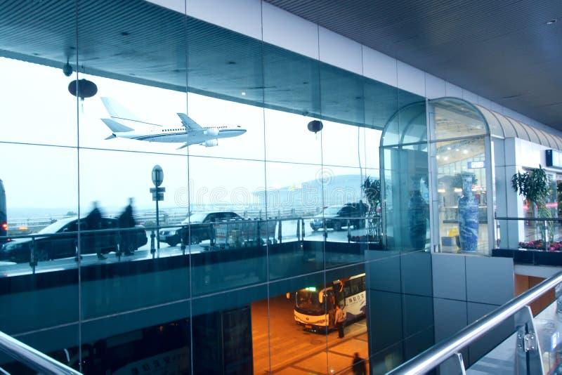 Het wachten in luchthaven royalty-vrije stock afbeelding