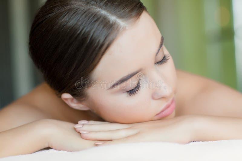Het wachten op massage royalty-vrije stock afbeeldingen