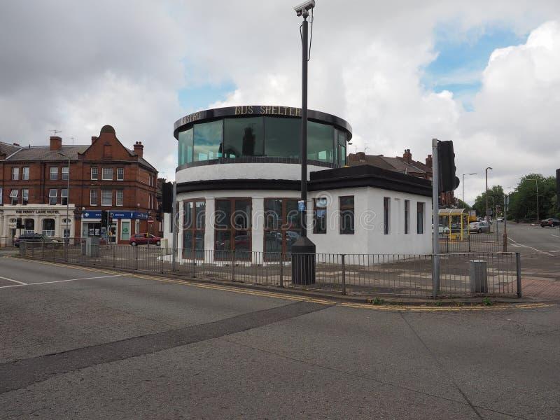 Het wachthuisje van Penny Lane in Liverpool royalty-vrije stock afbeeldingen