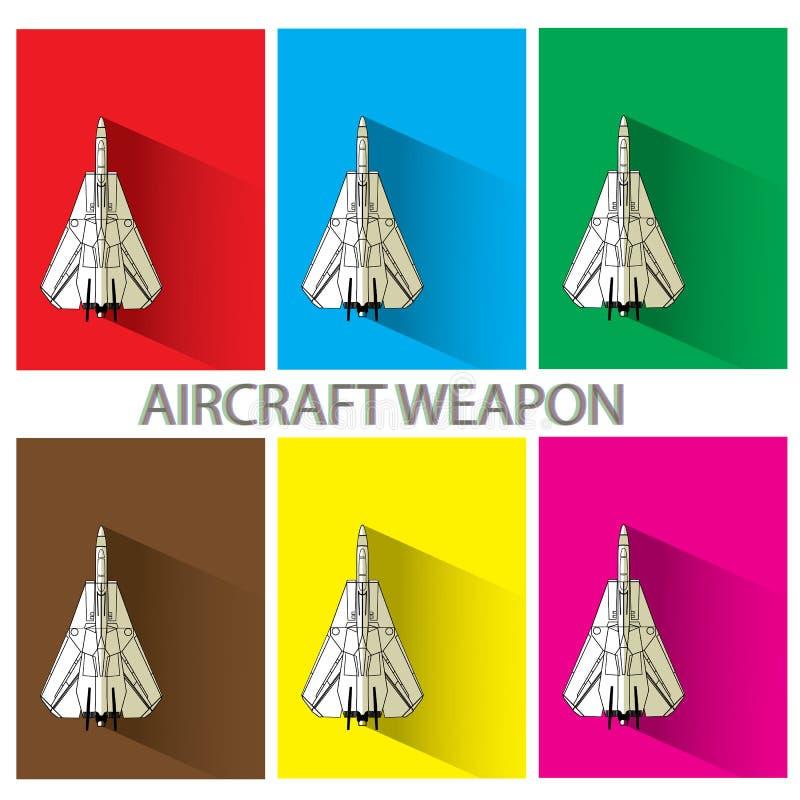 Het wapen van de luchtambacht stock illustratie