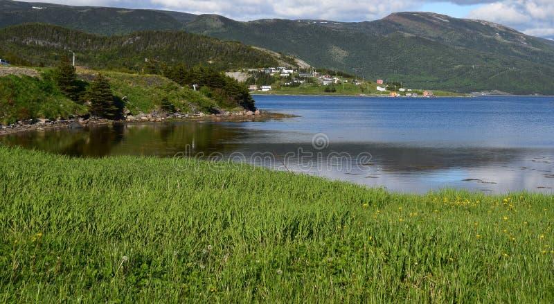 Het Wapen van het oosten van de Bonne-Baai van de kusten van Norris Point wordt gezien dat royalty-vrije stock afbeelding