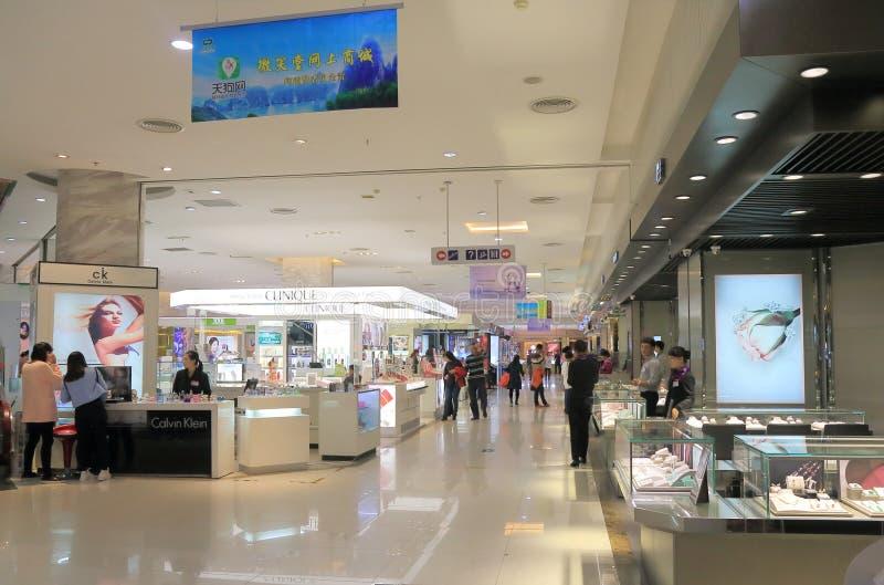 Het warenhuis Guilin China van Wei Xiao Tang Nico Nico Do stock foto's