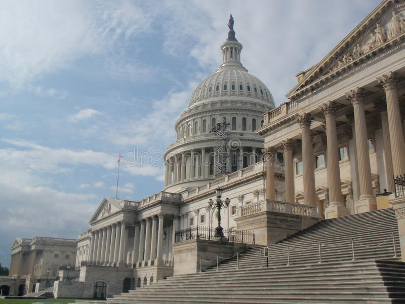Het Washington DC van Capitol Hill royalty-vrije stock foto